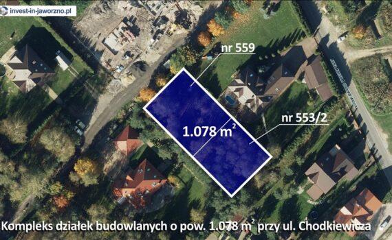 ul. Chodkiewicza - teren mieszkaniowy